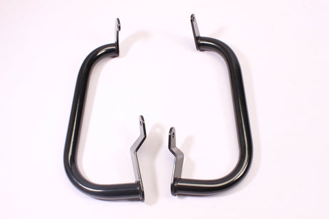 Talon Billets - C44 BLACK 13-17 SUZUKI BOULEVARD C90 C90T BOSS ENGINE GUARD CRASH HIGHWAY BAR BLACK