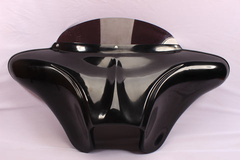 "BATWING FAIRING WINDSHIELD 4 YAMAHA VSTAR 650/ 1100 CUSTOM 6.5"" SPEAKER HOLES"