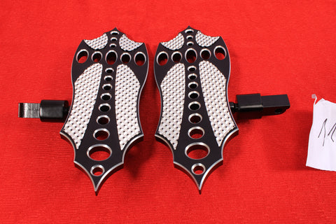 Talon Billets - REAR FOOTPEGS MINI FLOORBOARDS MOUNT 4 VICTORY High-Ball Models & Gunner