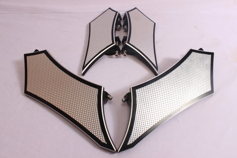 Talon Billets - Billet Foot Board Footboards + Passenger Floorboards Harley Touring Fl Softail