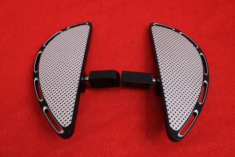 Talon Billets - REAR FOOT PEG MINI FLOORBOARDS MALE MOUNT 4 Yamaha Roadliner/ Stratoliner 06-14