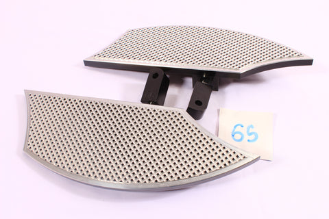 Talon Billets - REAR FOOT PEG MINI FLOORBOARDS PASSENGER 4 Suzuki Boulevard M50 05-17