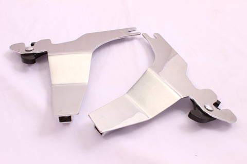 Talon Billets - Side Plate Sideplates Bracket 4 Sissy Bar Harley Sportster Super Low 1200 883 Xl
