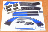 81 Honda CB900F Complete Decal Set Pin Striping Warning Caution Decals