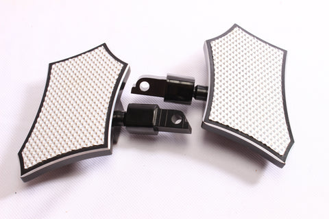 Talon Billets - FRONT FOOT PEG MINI FLOORBOARD 4 VICTORY Kingpin, Gunner & Octane Models