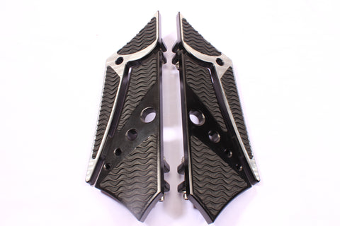Talon Billets - Billet Footboard Floorboards Foot Board Harley Touring Road King Street Glide
