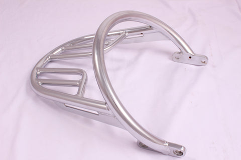 Talon Billets - E67 Triumph Bonneville T100 Bonneville T120 Chrome Grab Rail and Luggage Rack Kit