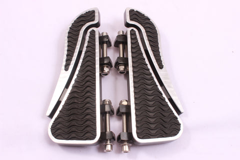 Talon Billets - Billet Footboard Floorboards Rear Passenger Foot Board Harley Touring Softail