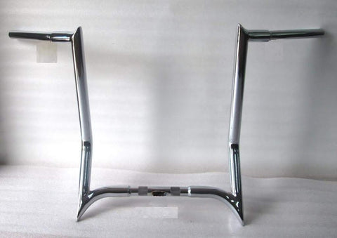 "APE HANGER HANDLEBAR 14"" 4 HARLEY SOFTAIL FATBOY DELUXE HERITAGE"