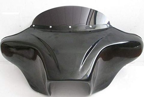 "Talon Billets - BATWING FAIRING WINDSHIELD 4 SUZUKI BOULEVARD M50 05-09 FIBER 4X5"" CUTOUT"