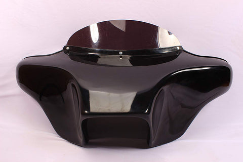 "Talon Billets - FIBERGLASS BATWING FAIRING WINDSHIELD KAWASAKI VN 900 6X9"" HOLES USA-BIKER NICE"
