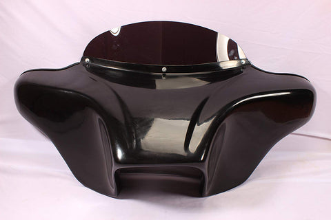 "Talon Billets - BATWING FAIRING WINDSHIELD 4 KAWASAKI VN800 VN 800 CLASSIC  4X5"" CUTOUT F14-1 GC"