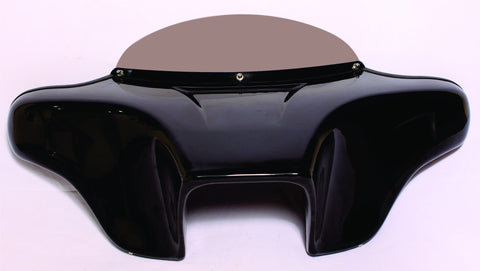 "Talon Billets - HARLEY BATWING FAIRING WINDSHIELD 4X5"" TOURING ROAD KING PAINTED DOUBLE DIN"