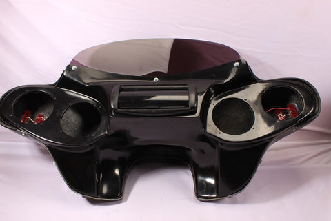 Talon Billets - ABS PAINTED HARLEY BATWING FAIRING WINDSHIELD 4 TOURING ROAD KING STANDARD FLHR