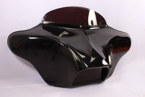 "Talon Billets - GELCOAT BATWING FAIRING WINDSHIELD 4 YAMAHA ROAD STAR 6x9"" SPEAKER DALLAS-BAGGER"