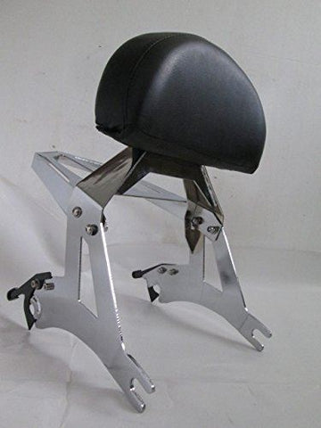 Talon Billets - Passenger Backrest Back Rest Sissy Bar W Luggage Rack Cross Country Road Victory