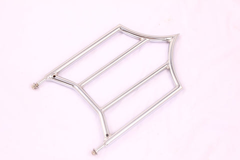 Talon Billets - Backrest Sissy Bar Rack Chrome 4 Chieftain dark horse springfied 14-18