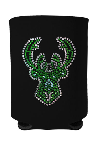 Buy One GET One FREE - Bucks Rhinestone Logo Can Cooler