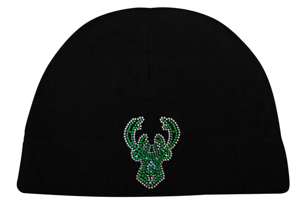 Milwaukee Bucks Rhinestone Logo Beanie
