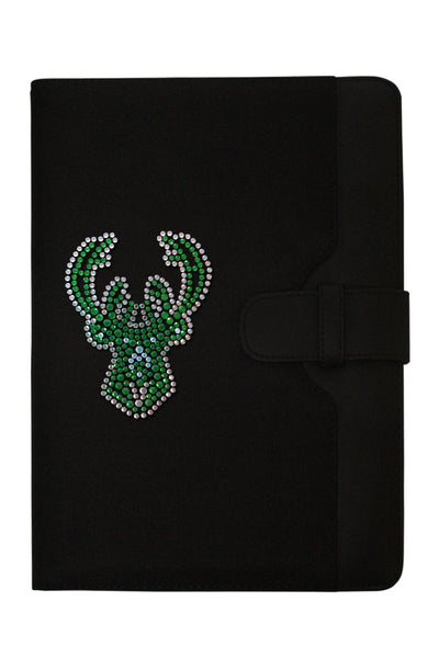 iPad Case - Milwaukee Bucks Rhinestone Logo Edition