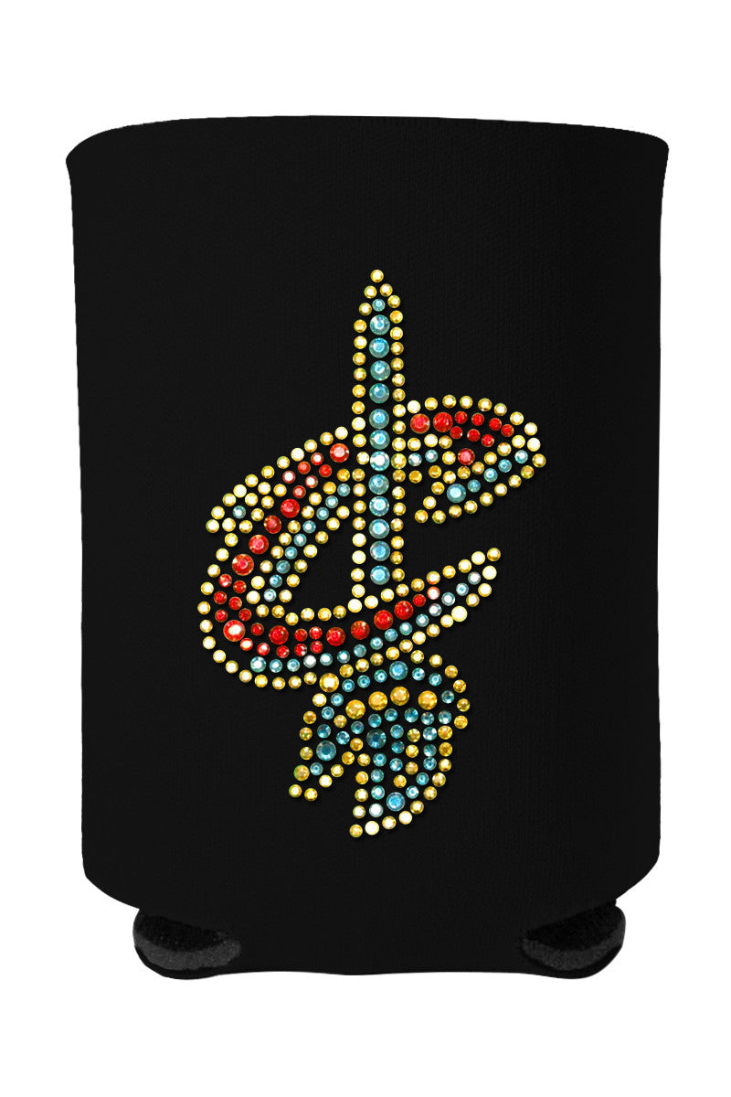 Buy One GET One FREE - Cavs Rhinestone Logo Can Cooler