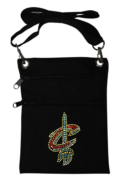 Cleveland Cavs Mini Cross Body Accessory Bag