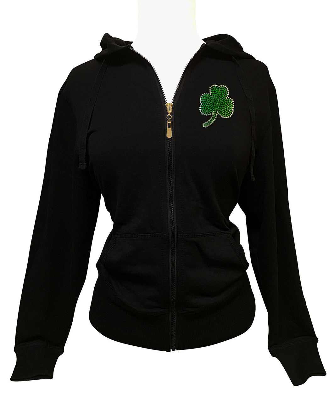 Official Boston Celtics Rhinestone Hoodie