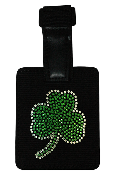Boston Celtics Rhinestone Luggage Tag
