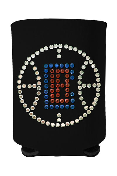 Buy One GET One FREE - Clippers Rhinestone Logo Can Cooler