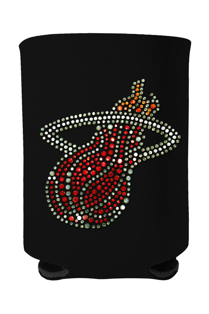 Buy One GET One FREE - Heat Rhinestone Logo Can Cooler