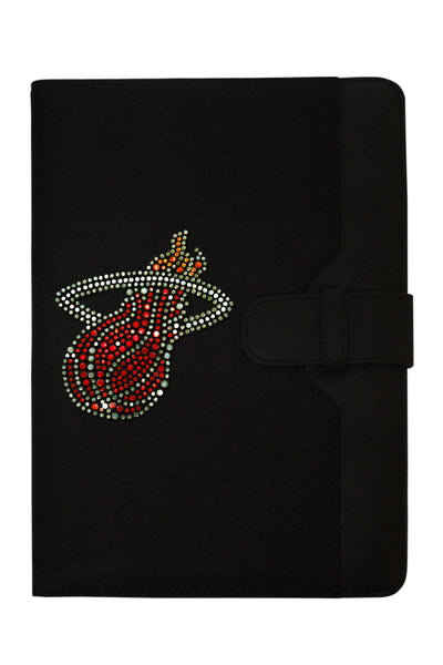 iPad Case - Miami Heat Rhinestone Logo Edition