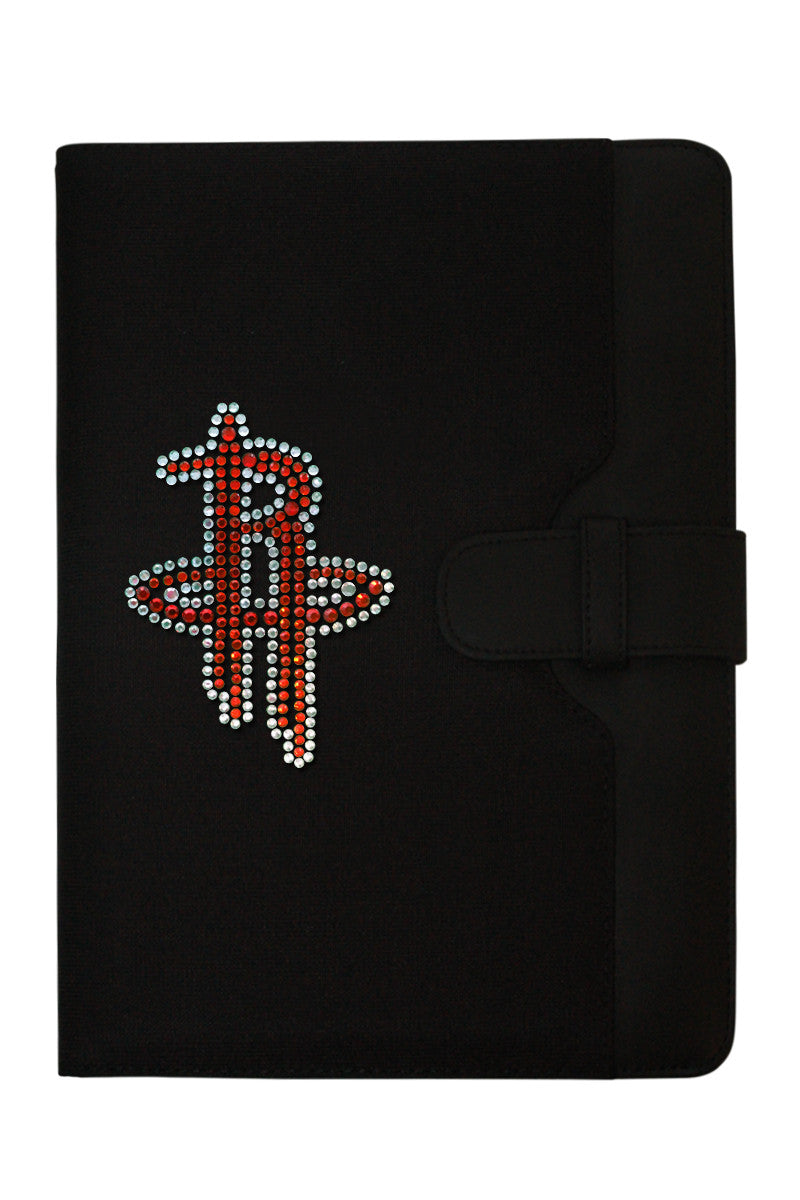 iPad Case - Houston Rockets Rhinestone Logo Edition