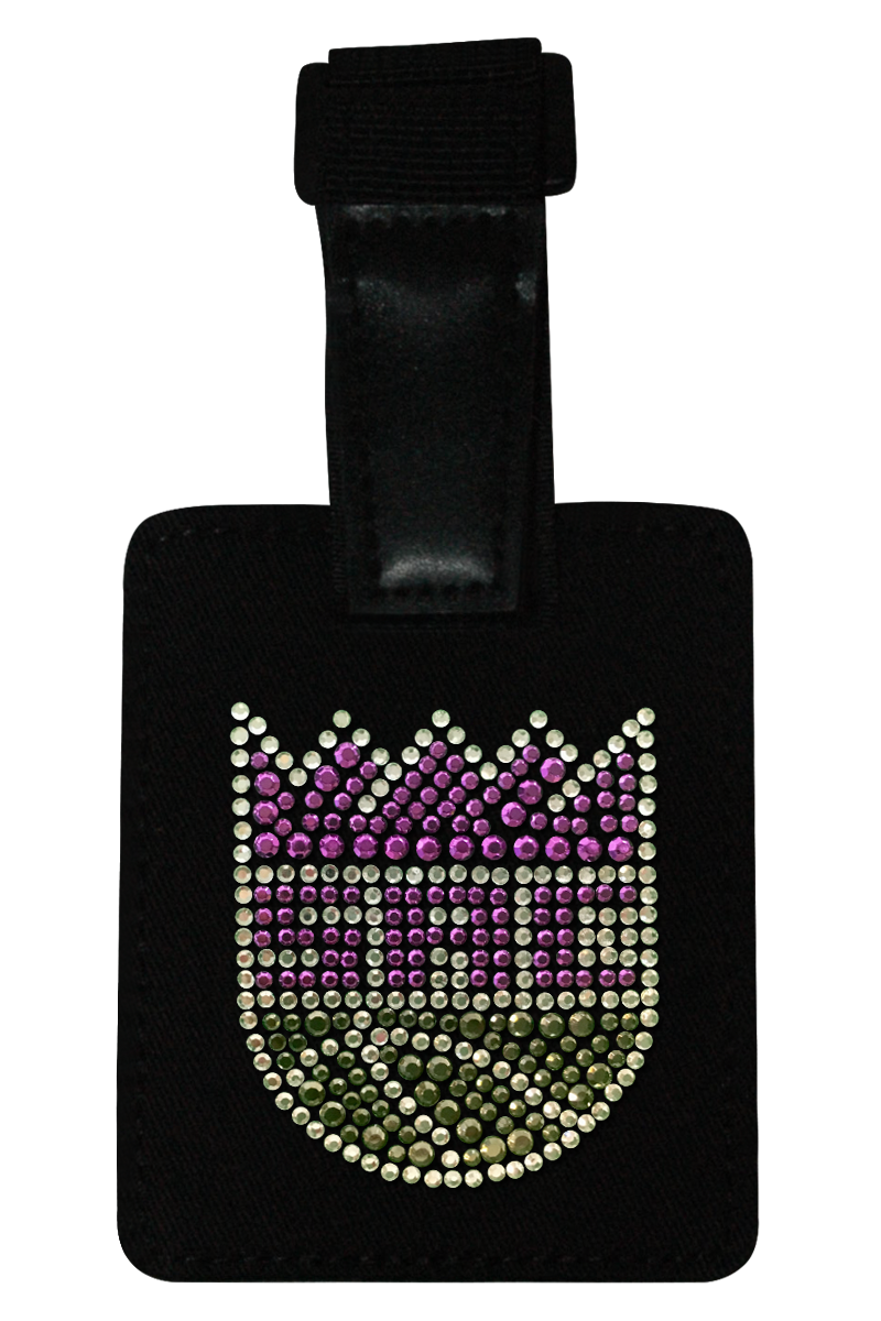 Sacramento Kings Rhinestone Luggage Tag