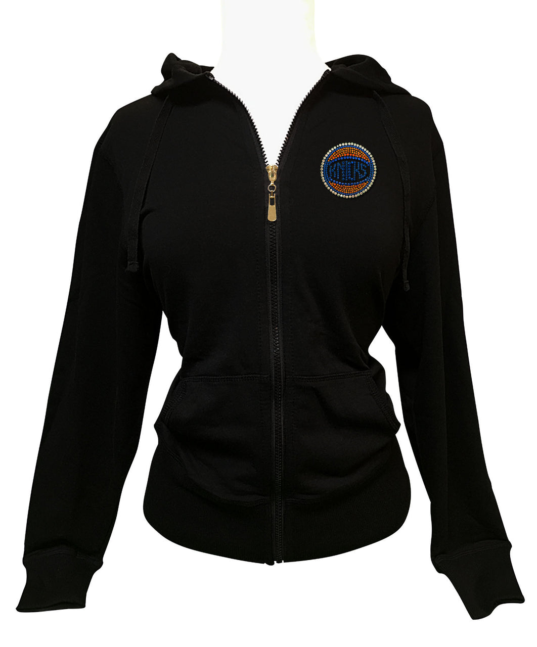 Official New York Knicks Rhinestone Hoodie