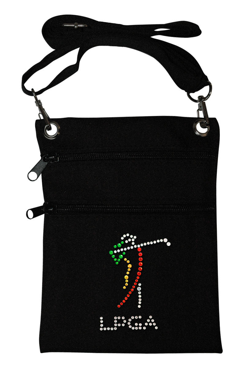 LPGA Mini Cross Body Accessory Bag