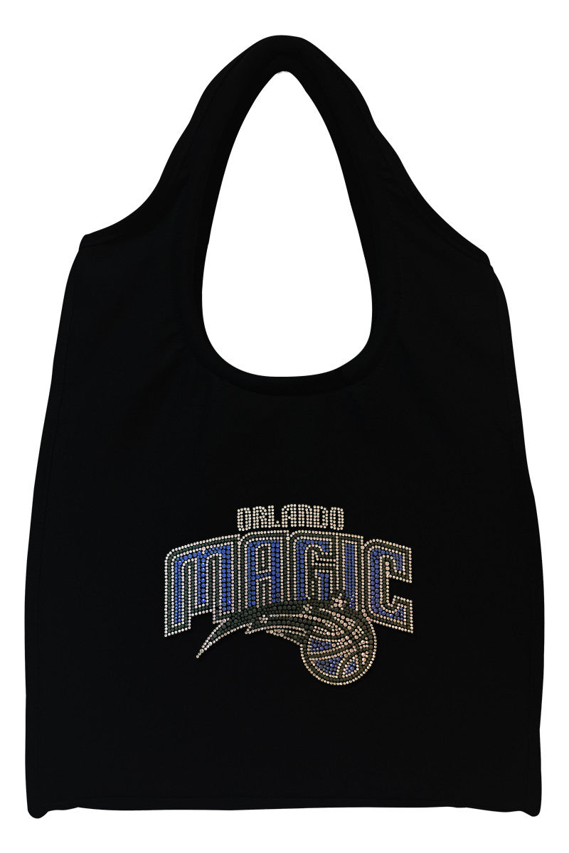 Orlando Magic Full-Size Rhinestone Logo Tote Bag