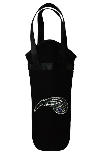 Orlando Magic Rhinestone Logo Wine Tote