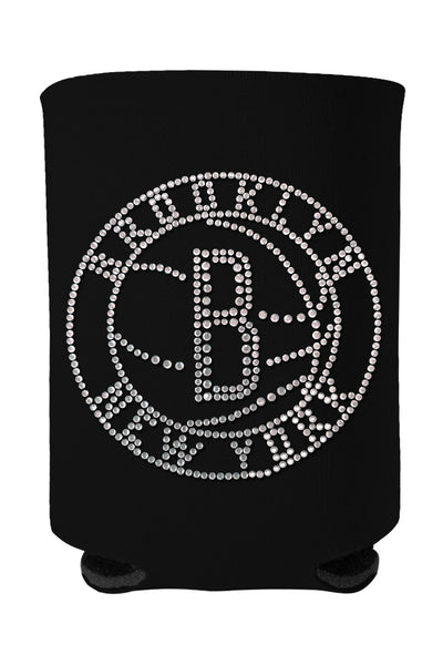 Buy One GET One FREE - Brooklyn Nets Rhinestone Logo Can Cooler