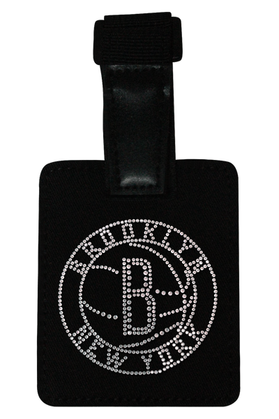 Brooklyn Nets Rhinestone Luggage Tag