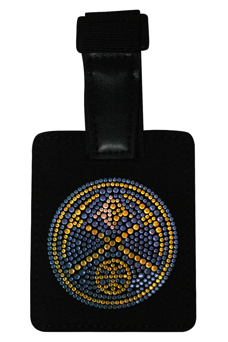 Denver Nuggets Rhinestone Luggage Tag