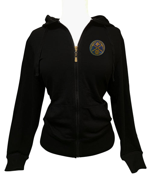 Official Denver Nuggets Rhinestone Hoodie