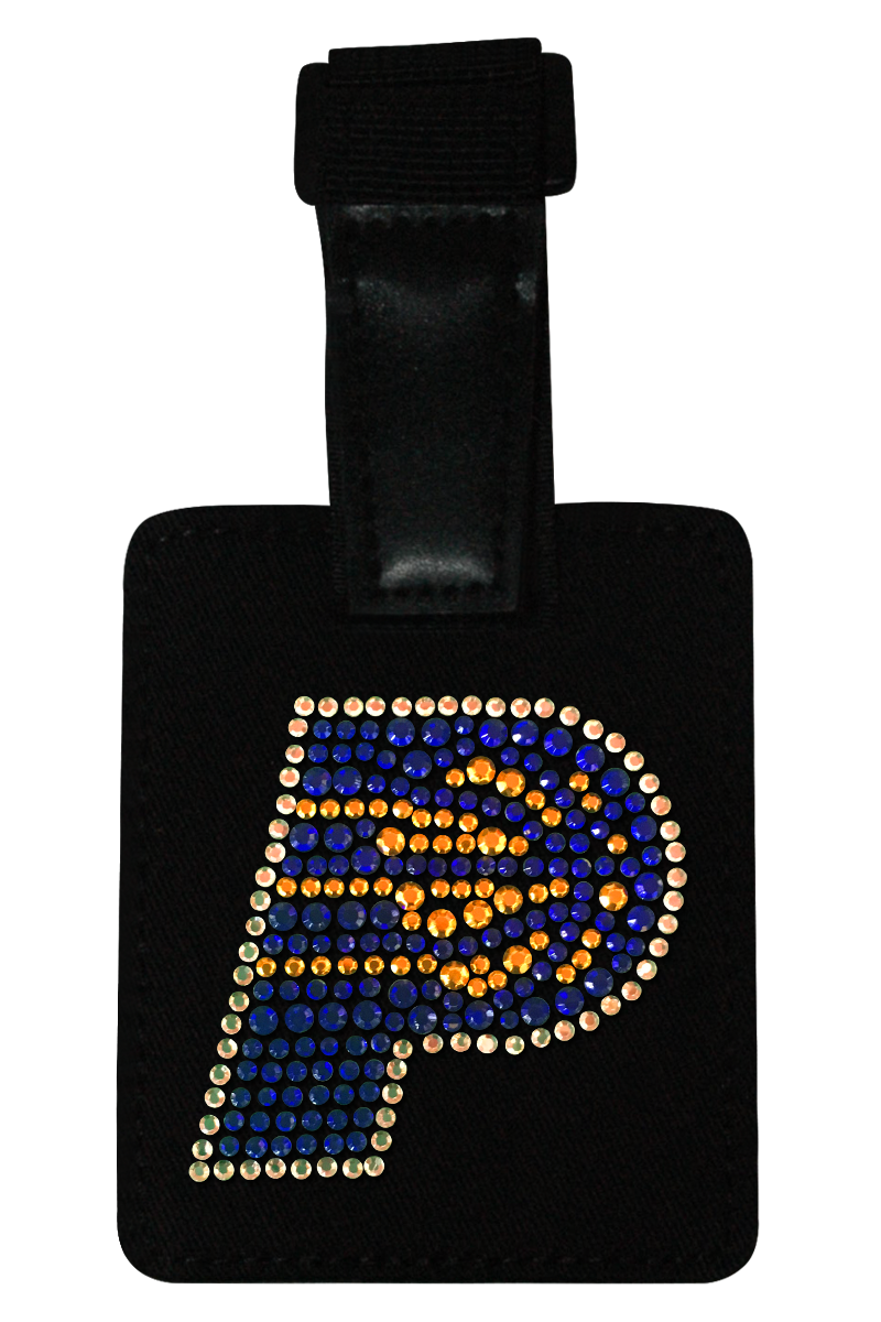 Indiana Pacers Rhinestone Luggage Tag
