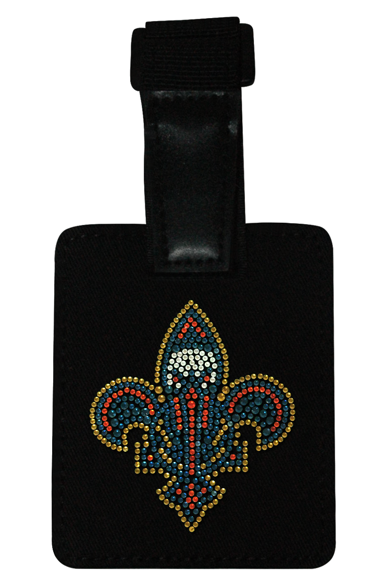 New Orleans Pelicans Rhinestone Luggage Tag