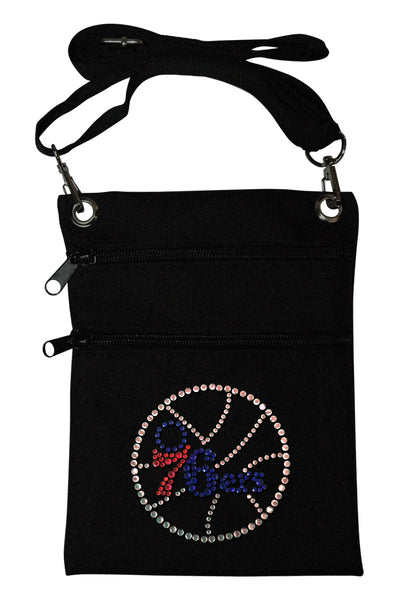 Philadelphia 76ers Mini Cross Body Accessory Bag