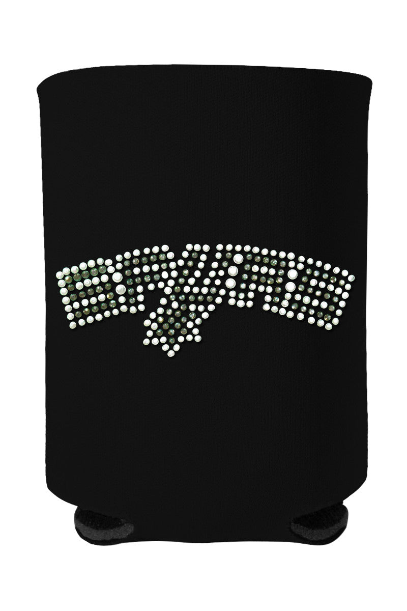 Buy One GET One FREE - Spurs Rhinestone Logo Can Cooler