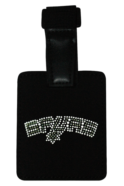San Antonio Spurs Rhinestone Luggage Tag