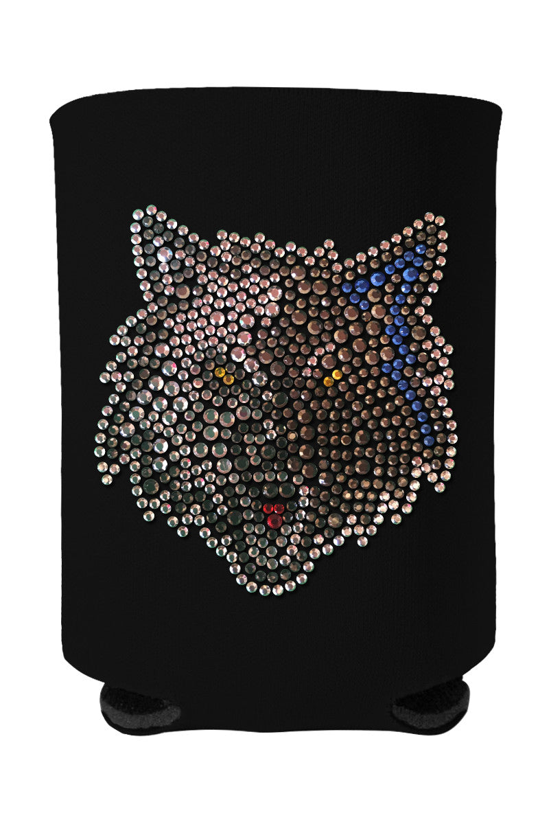 Buy One GET One FREE - Timberwolves Rhinestone Logo Can Cooler