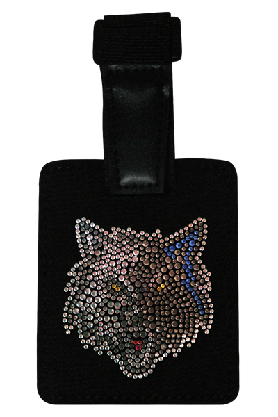 Minnesota Timberwolves Rhinestone Luggage Tag