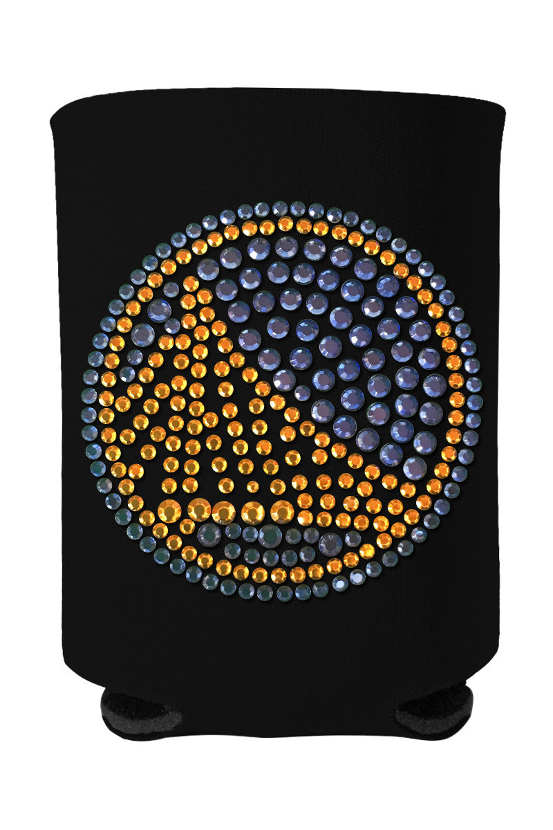 Buy One GET One FREE - Warriors Rhinestone Logo Can Cooler