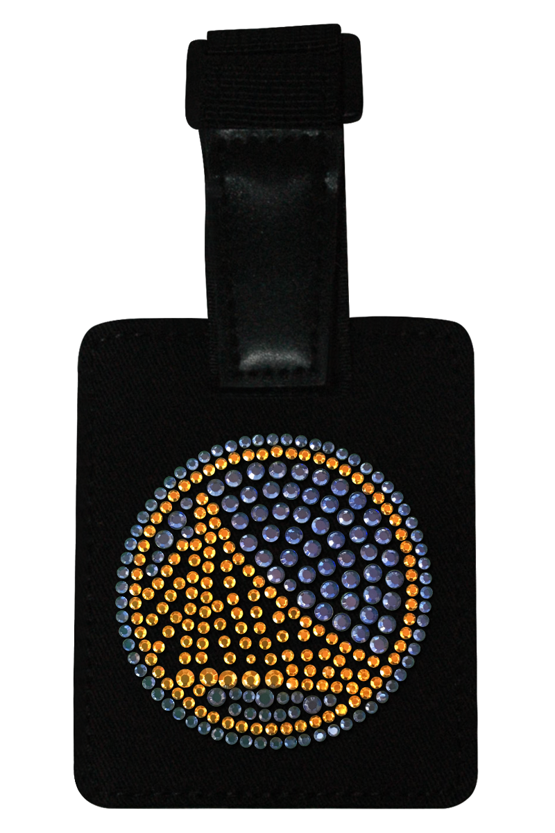 Golden State Warriors Rhinestone Luggage Tag